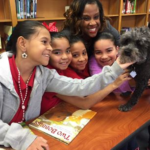 Dorsey Represents Ten Schools Receiving Animal Education Library Donation
